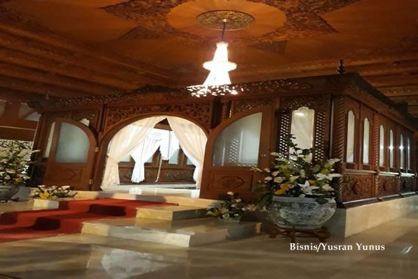 Makam almarhum Sukamdani Sahid Gitosardjono di Kompleks Yayasan Khusnul Hatimah, Gunung Menyan, Kabupaten Bogor