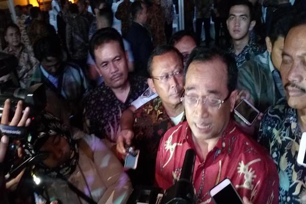 Menteri Perhubungan Budi Karya Sumadi - Ali Rizqi