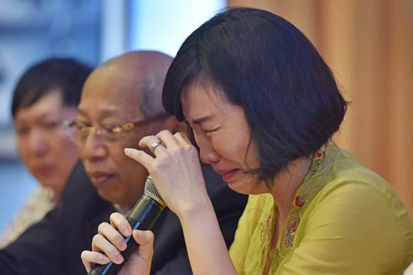 Istri Gubernur DKI Jakarta nonaktif Basuki Tjahaja Purnama alias Ahok, Veronica Tan. - Antara/Wahyu Putro A