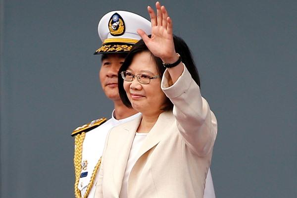 Pelantikan Presiden Taiwan Tsai Ing-wen - Reuters
