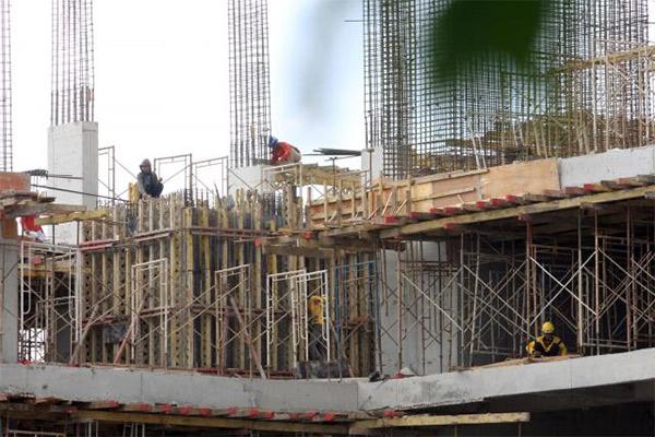 Ilustrasi: Pembangunan proyek gedung