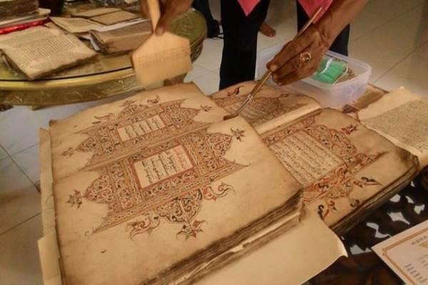 Manuskrip sejarah Aceh - Istimewa