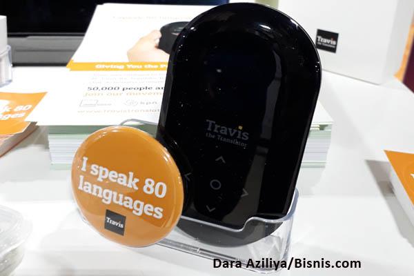 Travis Translator bisa menerjemahkan 80 bahasa