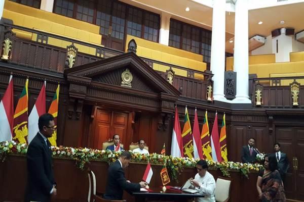 MoU Basarnas dengan Sri Lanka - Istimewa