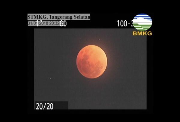 Gerhana bulan total - BMKG