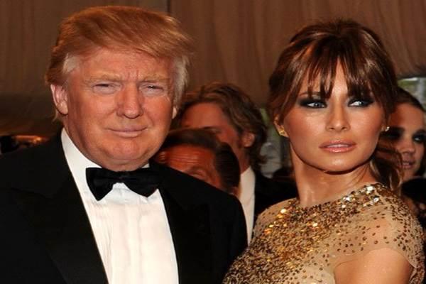 Donald Trump dan istrinya Melania - xfinity.com