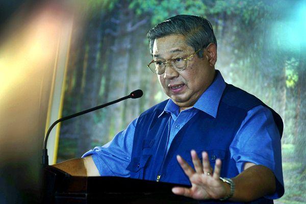 Ketua Umum Partai Demokrat Susilo Bambang Yudhoyono (SBY). - Antara/Yulius Satria Wijaya