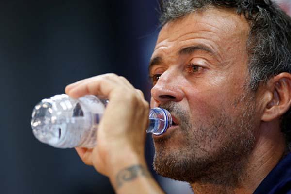 Luis Enrique - Reuters/Albert Gea