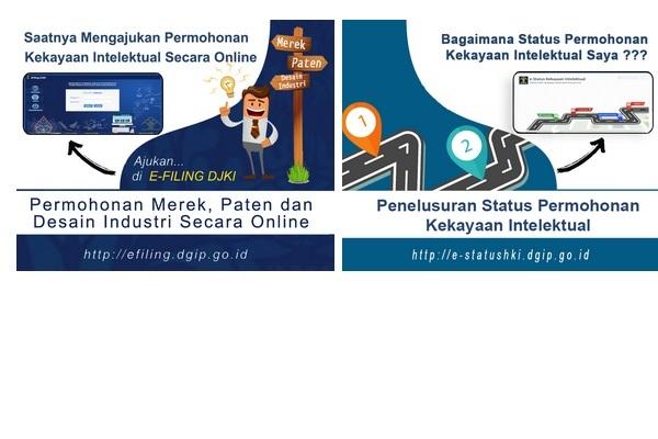 Ilustrasi Ditjen Kekayaan Intelektual, Kemenkumham - repro/Taufikul