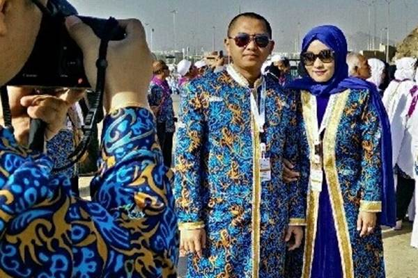 Bos First Travel Andika Surachman dan istrinya Anniesa Devitasari. - flipagram