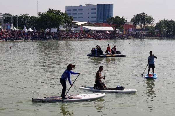 Danau Sunter - Bisnis.com/Sholahuddin Al/Ayubbi
