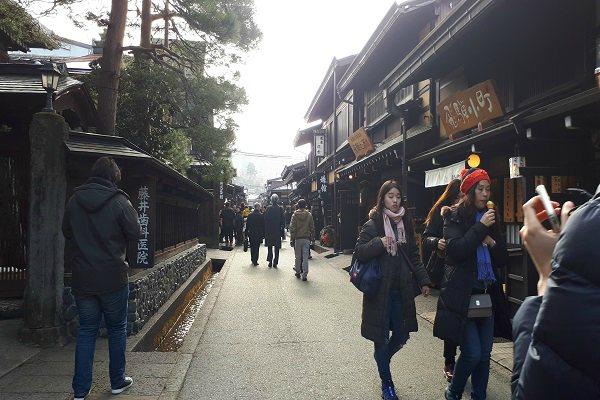 Suasana Kota Lama Takayama - Jibi/Annisa Sulistyo Rini