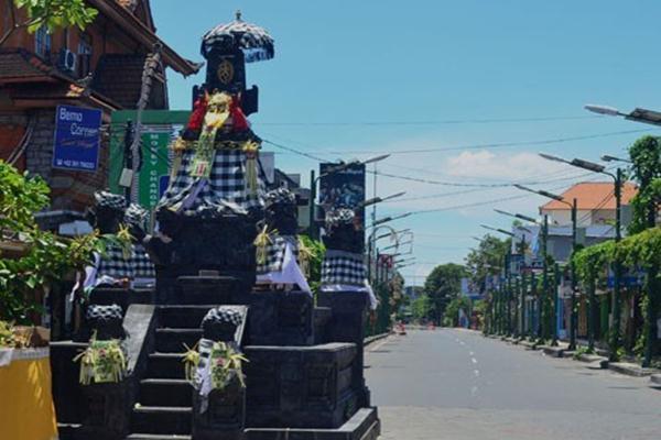 Suasana Nyepi di Bali - Antara