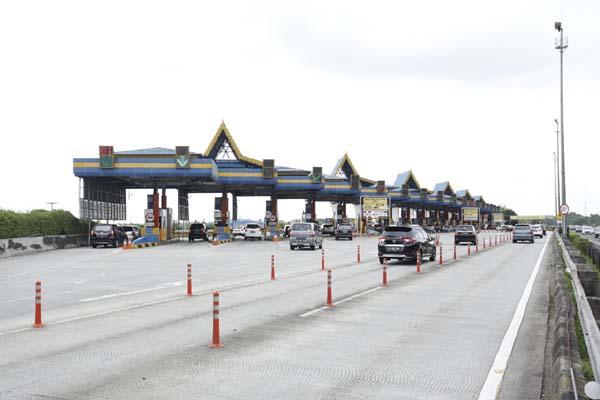 Gerbang tol Jagorawi - Istimewa-Jasa Marga
