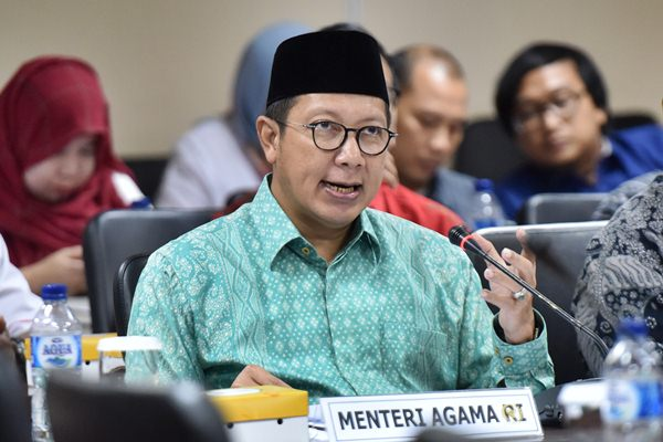 Menteri Agama Lukman Hakim Saifuddin - Antara/Wahyu Putro A