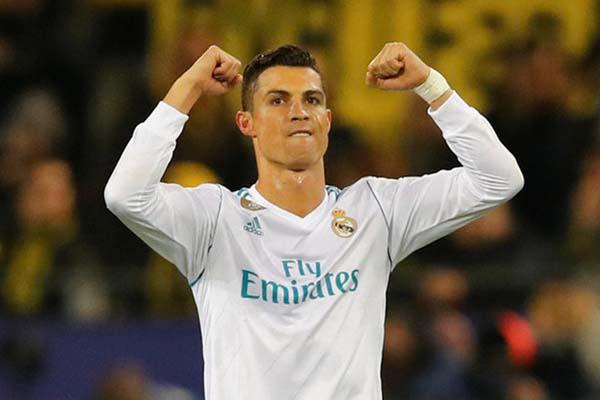 Bintang Real Madrid Cristiano Ronaldo - Reuters/Wolfgang Rattay