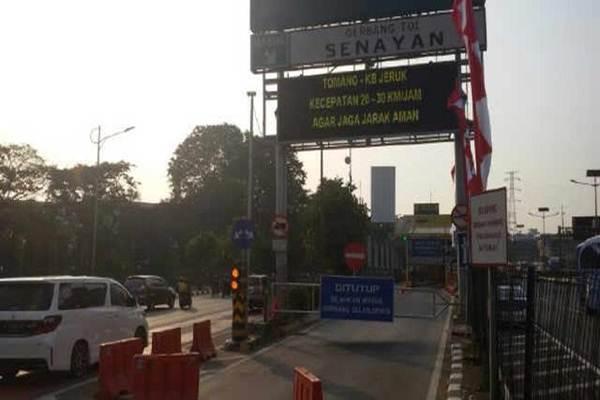 Ilustrasi: Gerbang Tol Senayan - tmcpoldametro