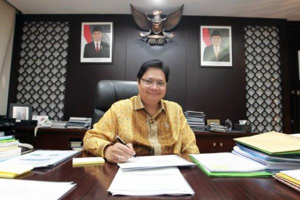 Menteri Perindustrian Airlangga Hartarto. - JIBI/Dwi Prasetya