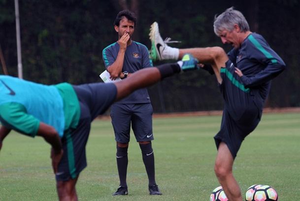 Pelatih Timnas Indonesia U-22, Luis Milla - PSSI