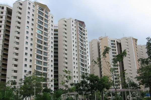Kompleks apartemen Edgedale di Sengkang, Singapura - Wikimedia Commons