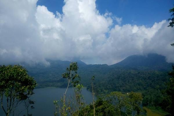 Danau Buyan di Kabupaten Buleleng, Bali. - Bisnis.com/ Tim Jelajah Jawa Bali