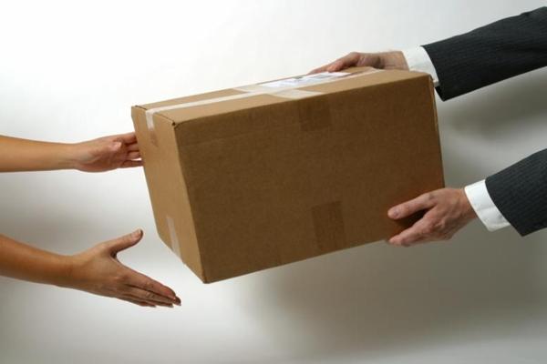 Ilustrasi pengiriman barang