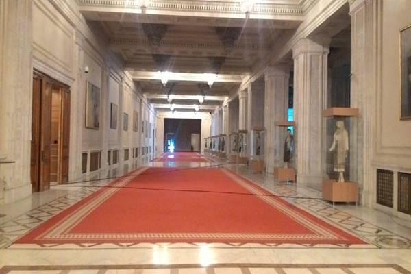 Gedung Parlemen Rumania. - JIBI/Inria Zulfikar