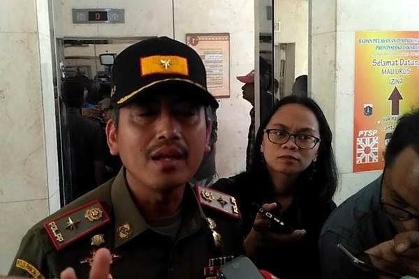 Kasatpol PP DKI Jakarta Yani Wahyu - Bisnis/Feni Freycinetia Fitriani