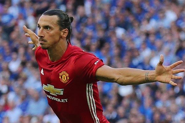 Zlatan Ibrahimovic - Reuters/Eddie Keogh