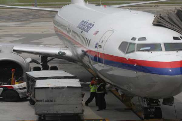 Pesawat Malaysia Airlines - JIBI/Endang Muchtar
