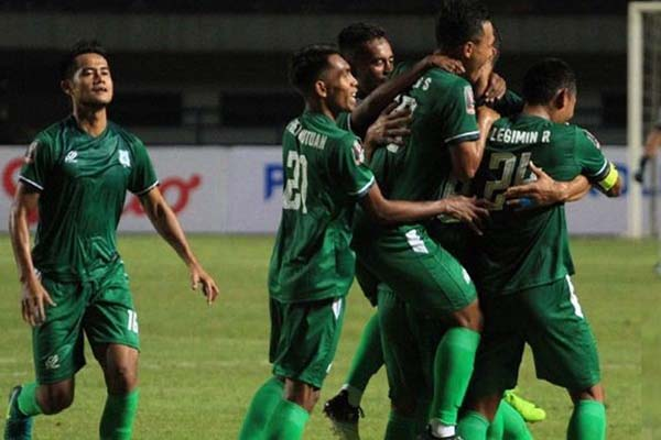 PSMS Medan saat tampil di Piala Presiden 2018. - Liga-Indonesia.id