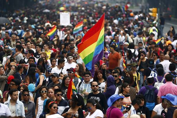 Ilustrasi-Parade gay - Reuters