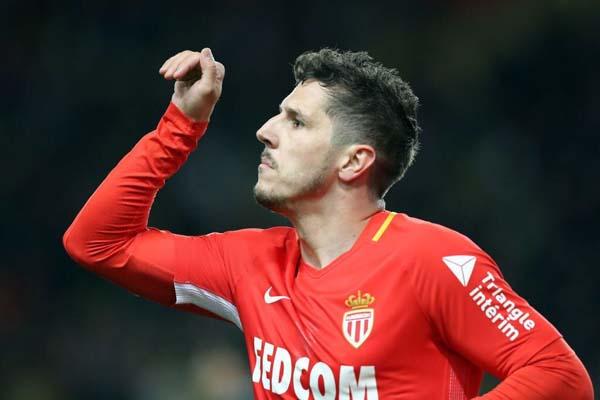 Striker AS Monaco Stefan Jovetic - Twitter@ASMonaco