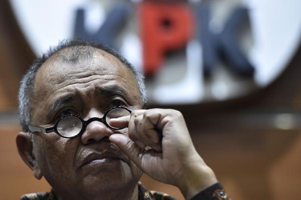 Ketua KPK Agus Rahardjo - Antara