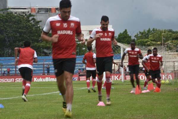 Madura United - Antara/Dewi Fajriani