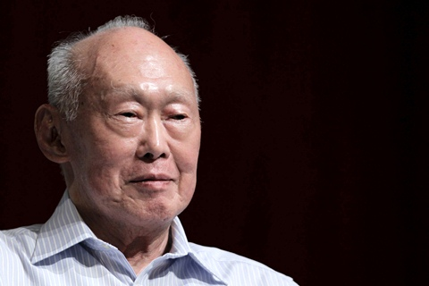 Lee Kuan Yew. - Reuters/Tim Chong