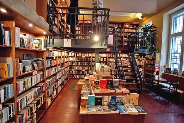 Ilustrasi toko buku - istimewa
