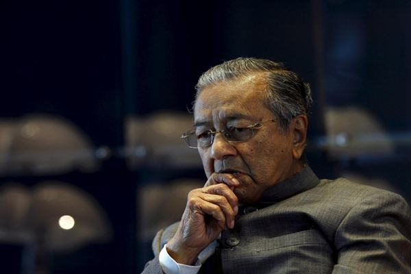 Mahathir Mohamad - Reuters