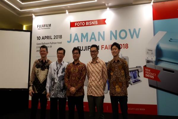 Suasana pembukaan Fujifilm Fair. - JIBI/Annisa Sulistyo Rini