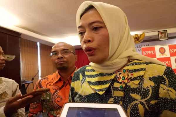 Komisioner KPPU RI Saidah Sakwan - Bisnis/Eldwin Sangga