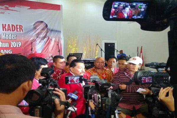 Ketua Umum PKPK A.M. Hendropriyono dalam satu acara di Jakarta - twitter PKPI