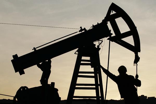 Ilustrasi pengeboran minyak. - Bloomberg/Jeyhun Abdulla