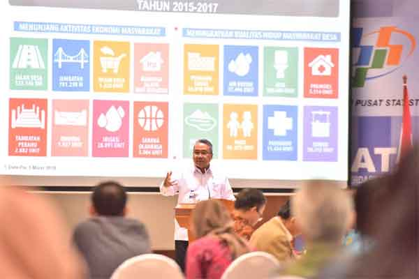 Menteri Desa, Pembangunan Daerah Tertinggal, dan Transmigrasi (Mendes PDTT) Eko Putro Sandjojo.  - Kemendes