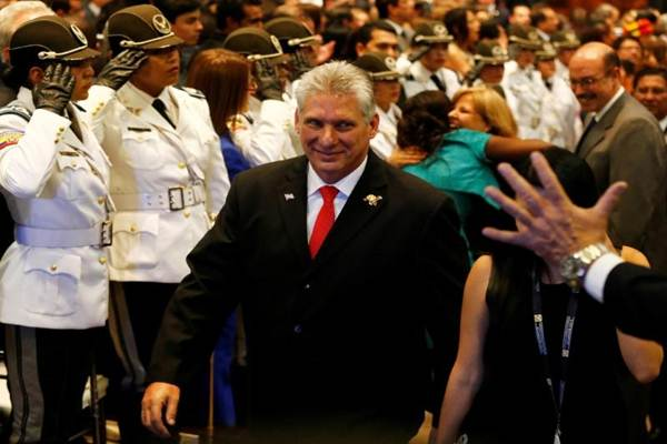 Presiden baru Kuba Miguel Diaz-Canel - Reuters