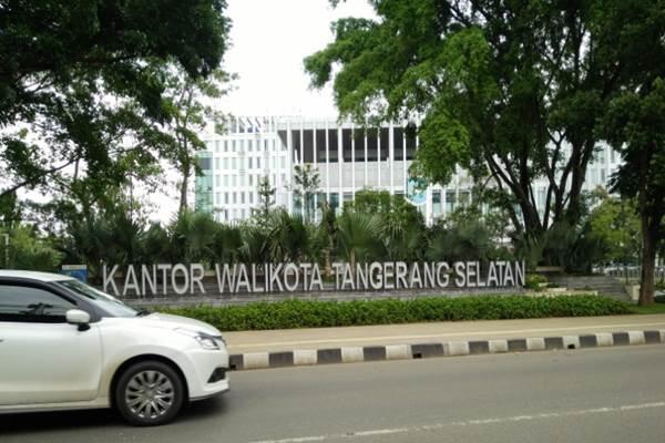 Kantor Wali Kota Tangerang Selatan. - Bisnis.com/Nurudin Abdullah