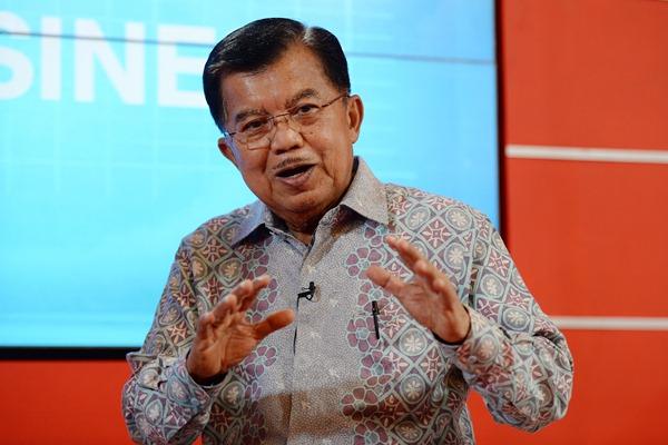 Wakil Presiden Jusuf Kalla. - Bloomberg/Dimas Ardian