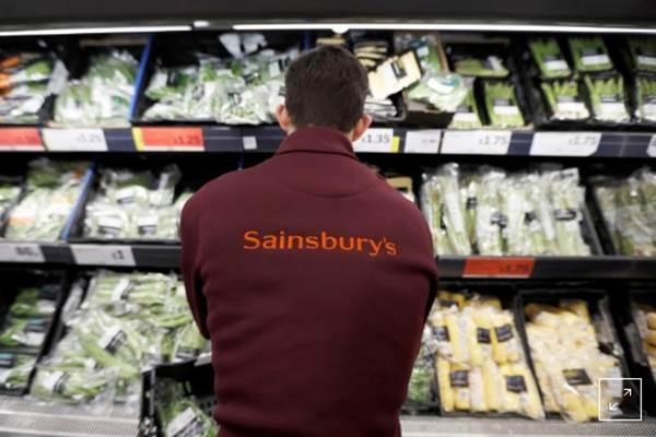 Gerai Sainsbury's. - Reuters