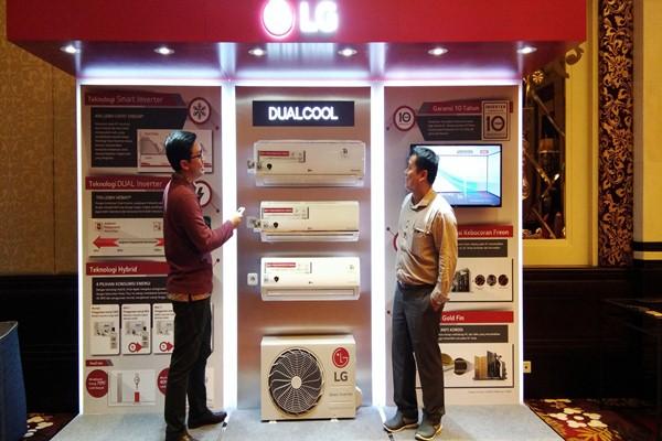 Ilustrasi PT LG Electronics Indonesia (kiri) - Bisnis/Natalia Indah K.
