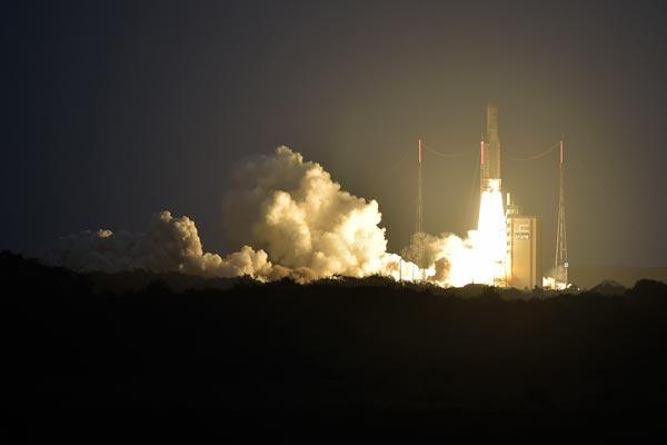 Peluncuran Satelit BRI SAT (ANT)