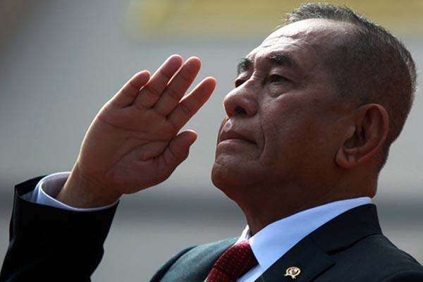Menteri Pertahanan Ryamizard Ryacudu - Reuters/Samrang Pring